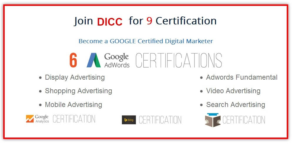 Get Certified By Google Learn Online Marketing Free Oukasfo